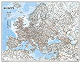 Europa, Classic, politisch, Grossformat, laminiert: 1:5419000: Wall Maps Continents (National Geographic Reference Map)