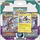 Asmodee–3pack01sl02–Pack 3Boosters Pokémon Sol & Luna 2-