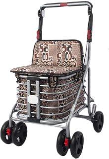 Carrito de la compra con asiento Hustle H5