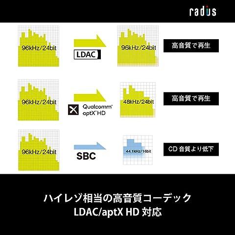 radius HP-R100BT