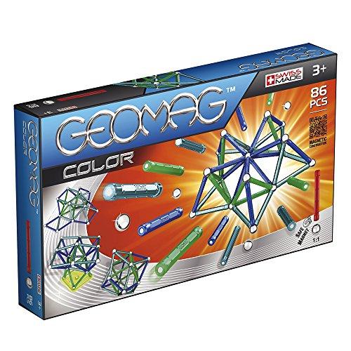 Geomag- Color Gioco di Costruzioni Magnetico, Multicolore, 254