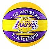 Spalding NBA Team L.A. Lakers 83-585Z Balón de Baloncesto, Multicolor, 5