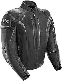 Joe Rocket – 1651-5004 Atomic Men's 5.0 Textile Motorcycle Jacket (Black, Large)