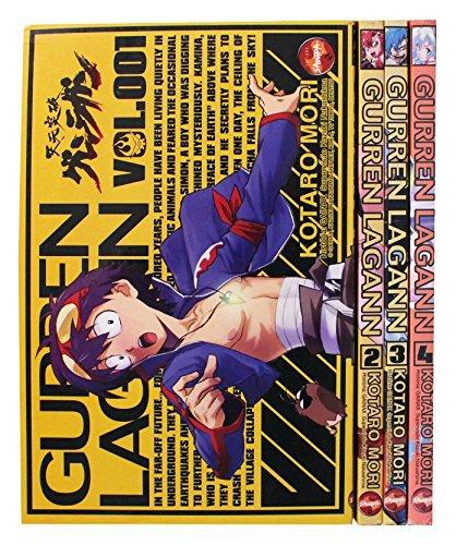 Gurren Lagann - Volume 1 ao 4