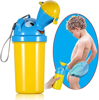 ONEDONE Portable Baby Child Potty Urinal Emergency Toilet for Camping Car Travel and Kid..