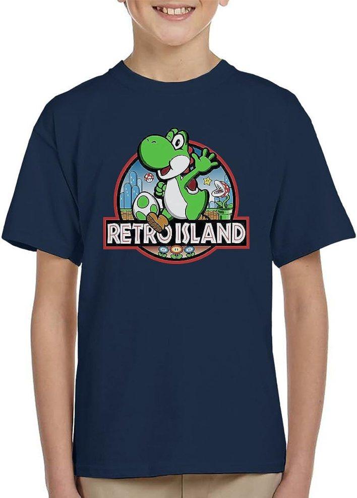 Cloud City 7 Super Mario Jurassic Retro Park Kid's T-Shirt