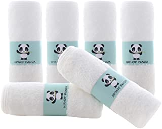 Bamboo Baby Washcloths – 2 Layer Soft Absorbent Bamboo Towel – Newborn Bath..