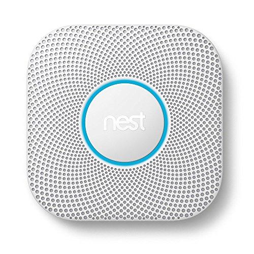 Google, S3000BWES, Nest Protect Smoke + Carbon Monoxide Alarm, 2nd Gen, Battery