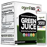 Organifi: GO Packs - Green Juice - Organic Superfood Supplement Powder - 30ct - USDA Certified Organic Vegan Greens - Hydrates and Revitalizes - Boost Immune System - Support Relaxation and Sleep