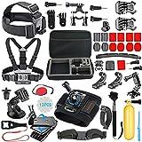56-en-1 Kit Accessoires pour GoPro Hero 9 Black Max Hero 8 7 6 5 Session 4 3...