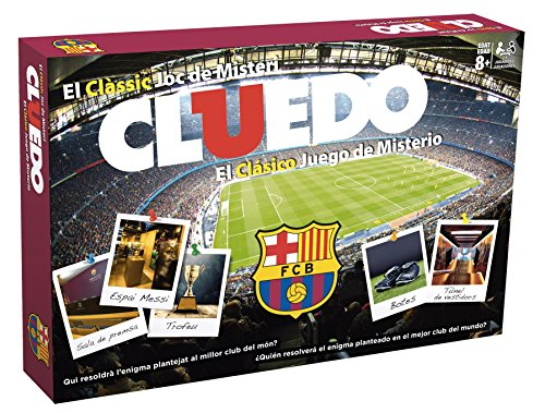 FCB FCBARCELONA Cluedo FC Barcelona (63409), Multicolor