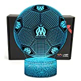 Deal Best Football Forme 3D Illusion Optique Intelligent 7 Couleurs LED...