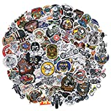 Harle_y-Davidson Motorcycle Mens Adults Stickers 100PCS Pack No Repeat Motorbike Cars Skateboard Luggage Decal Graffiti Patches
