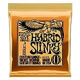 Cordes pour guitare électrique hybride Slinky Nickel Ernie Ball - calibre...