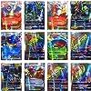 100 Poke Cards TCG Style Card Holo EX Full Art : 20 GX + 20 Mega + 1 Energy + 59 Ex Arts #2