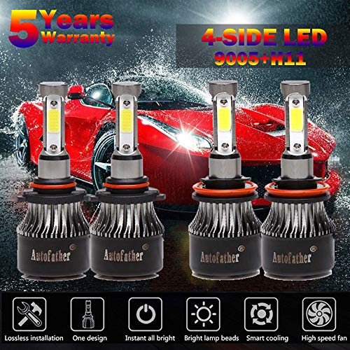 Autobaba H11 LED Headlight Bulbs