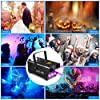 Smoke Machine, AGPTEK Fog Machine with 13 Colorful LED Lights Effect, 500W and 2000CFM Fog with 1 Wired Receiver and 2 Wireless Remote Controls, Perfect for Wedding, Halloween, Party and Stage Effect #3