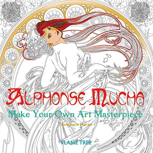 Alphonse Mucha (Art Colouring Book): Make Your Own Art...