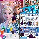 Disney Frozen 2 Coloring Book Activity Set with Stickers and Snowflake Stamper