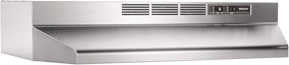 Broan-NuTone 413004 Non-Ducted Ductless Range Hood with Lights Exhaust Fan for Under..