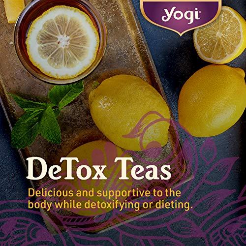 Yogi Tea - DeTox Tea (6 Pack) - Healthy Cleansing Formula With Traditional Ayurvedic Herbs - 96 Tea Bags 3