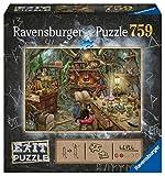 Altersempfehlung: Ab 12 Jahre Größe: 70x50cm Material: Karton Teileanzahl: 759 Das Exit Room Konzept im Ravensburger Puzzle Format ,