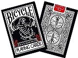 Cartes Bicycle black tiger rouge et blanc (Bicycle)