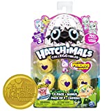 Hatchimals Colleggtibles Season 3, 4 Pack + Bonus (Styles & Colors May Vary) by Spin Master