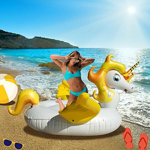 CTVISON Giant Unicorn Float Unicorn Pool...