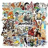 ZZHH Anime Waterproof Stickers DIY Skateboard Guitar Phone Laptop Cool Cartoon Decal Kids Toy Sticker50Pcs