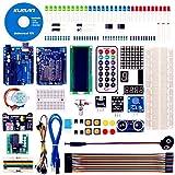 kuman Projet Super Kit de Démarrage pour Arduino avec Un Manuel D'utilisation Français pour Arduino R3 for Mega2560 K4