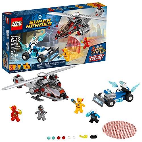 LEGO DC Super Heroes Speed Force Freeze Pursuit 76098 Building Kit (271 Piece)
