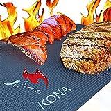 KONA Beste BBQ Grillmatte - 600 Grad Matten mit...