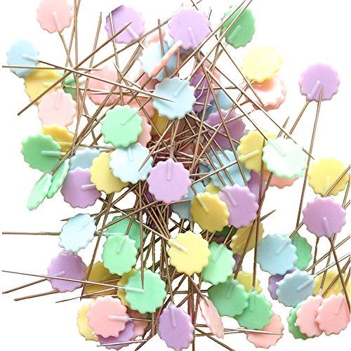 "Rimobul Flat 1.9"" Flower Head Pins Boxed"