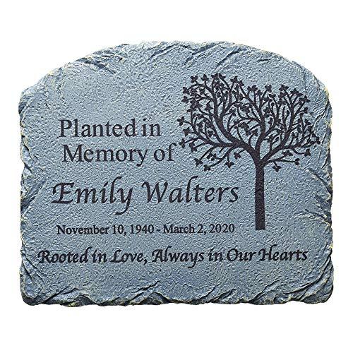 Let's Make Memories Personalized Memorial Garden Marker - Sympathy...