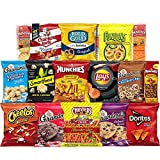 Frito-Lay Ultimate Snack Care Package, Variety Assortment of Chips, Cookies, Crackers & More, 40 Count (ASINPPOSPRME38724)