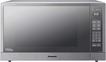 Panasonic Microwave Oven, Stainless Steel Countertop/Built-In Cyclonic Wave with Inverter..