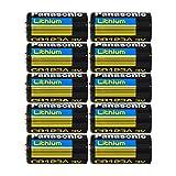 Panasonic CR123A Lithium 3V Photo Lithium Batteries, 0.67' Dia x 1.36' H (17.0 mm x 34.5 mm) (Pack of 10)