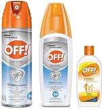 Off Pack de Repelentes Advanced, Aerosol, 170 g, Advanced Spray, 177 ml y Crema Family, 60 ml