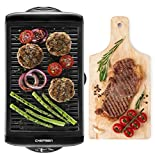 Chefman Electric Smokeless Indoor Grill w/ Non-Stick Cooking Surface & Adjustable Temperature Knob...