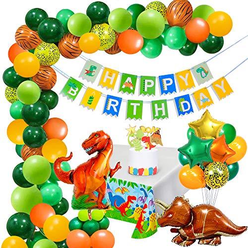 MMTX Dinosaurios Fiesta de cumpleaños Decoracion,Globos par
