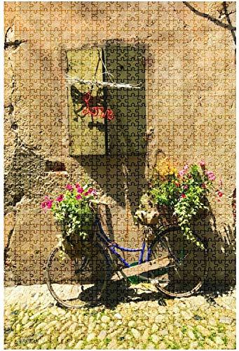 Puzzle in legno 500 pezzi Vista panoramica a Locorotondo Provincia di Bari Puglia Puglia Sud Divertente e impegnativo Puzzle da tavolo Gioco Giocattoli Regalo Decorazioni per la casa-Puzzle5