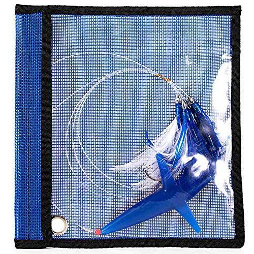 Beada Gonna Un Traina con Piume Esca Tonno per Pesca D'Altura Equipaggiata con Amo nel Acciaio Inossidabile Colori con Occhiolino per Uccelli (B)