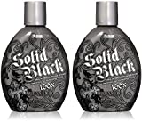 Dark Tanning Lotion 13.5 Ounces each - 2 Pack, Black