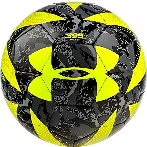 Under Armour Desafio 395 Soccer Ball Camo/Hi-Viz, Camo/Hi-Viz, Size 3