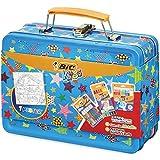 BIC Kids Mallette de Coloriage - 12 Pastels à l'Huile/12 Feutres...