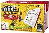 Ce pack contient : La console Nintendo 2DS - blanc et rouge Le jeu New Super Mario Bros. 2 pré-installé Contact du support de Nintendo : 01 34 35 46 01