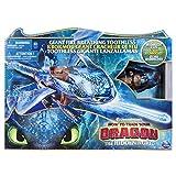 Dragons 3 - 6045436 - Jeu enfant - Figurine d'Action - Krokmou Géant Cracheur de Feu - Film Dragons 3 Le Monde Caché