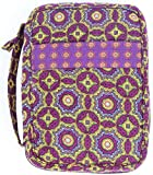 DIWI Quilted Bible Covers Large Sizes 10 X 7 X 2.75 Inches Good Book Case (L, C1 Brilliance Purple)