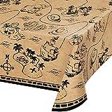 Treasure Island Pirate Plastic Tablecloths, 3 ct